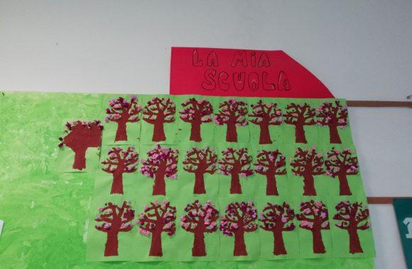 albero della primavera Infanzia